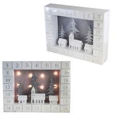 Noël en Bois Calendrier de L'Avent Allumer Maisons Design - Add Your Own Treats