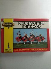 SEALED Warhammer Fantasy EMPIRE KNIGHTS OF THE WHITE WOLF New Metal Free Peoples