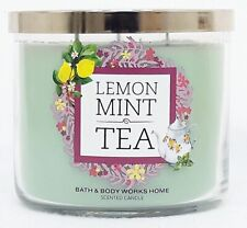 1 Bath & Body Works LEMON MINT TEA 3-Wick Scented Wax Candle 14.5 oz