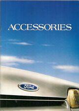 Ford Accessories 1985-86 UK Market Brochure Fiesta Escort Sierra Capri Granada