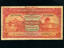 Trinidad & Tobago:P-6b,2$,1939 * WWII Issue *