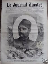 LE JOURNAL ILLUSTRE 1877 N 40 SULEÏMAN -PACHA, LE TURC