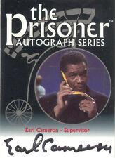 "The Prisoner Volume 1 - PA5 Earl Cameron ""Supervisor"" Auto / Autograph"