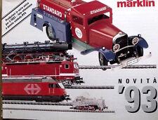 Catalogo MARKLIN Novità 1993 - ITA - Tr.10