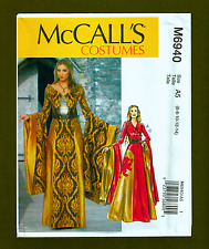 Medieval Ball Gown/Princess Costume Sewing Pattern (Size 6-14) McCalls 6940