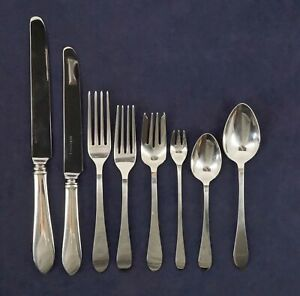 Tiffany & Co. 1910 Faneuil Sterling Silver 8 Piece Place Setting - Free Ship USA