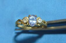 Fine Jewelry Tanzanite & Diamond Ring #R18