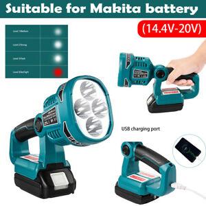 For Makita DML812 18V Li-ion Cordless LED Spotlight Torches Lighting Work Lights