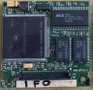 Apple 100MHz 603e PPC PowerPC CPU Upgrade Card PowerBook 520/540/550c M3081LL/A