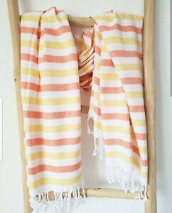 XL Strandtuch, Badetuch 100% hochwertige Baumwolle, leicht & schnelltrocknend
