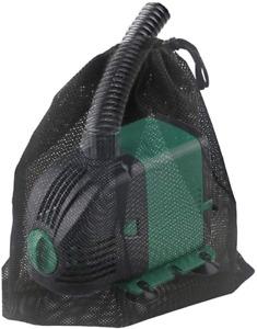 """Pump Barrier Bag Pond Pump Filter Netting 18""""x 18.5"""" Black Media Large Mesh"""