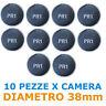 10 Pezze TONDE riparazione CAMERA D'ARIA. DIAMETRO 38mm PUTCHES PR1 per camere