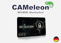 NFC Blocker I RFID blocking card I für EC-Karten, Kreditkarten, Ausweise