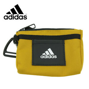 Adidas Tiny Mini Tote Bag Key Holder Keychain Keyring Gold FU1127