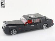 Custom Pre- assembled Lego Rolls Royce Phantom Luxurious Saloon MOC car vehicle