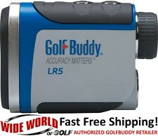 GOLF BUDDY LR5 LASER RANGEFINDER - NEW 2016 MODEL GRAY/BLUE - NEW LOW PRICE!
