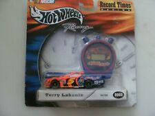 #5 TERRY LABONTE - RECORD TIMES 1:64 DIECAST CAR + STOP WATCH - HW'02 - PLZ READ