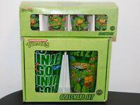 Teenage Mutant Ninja Turtles Glassware Set - 2 Pint Glasses & 4 Shot Glasses NIB