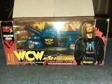 New WCW NWO Raven Wrestling Car MIP 1/24 Nitro Streetrod World War 3