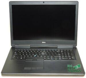 Dell Precision 7720 Intel Core i7 NVIDIA Quadro M1200 32GB RAM 512GB SSD Webcam