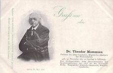 Dr. Theodor Mommsen, profesor de la vieja historia, para 1905
