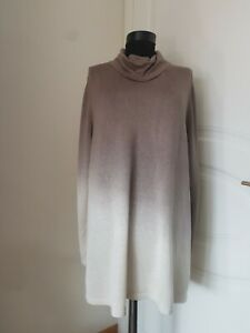 Marina Rinaldi by MaxMara, Plus Size sweater silk/cashmere, Size XL, RRP £310