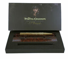 S.T. DUPONT 265101 Pirates Of The Caribbean Yellow Gold Ballpoint Pen Authentic