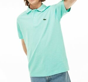 Lacoste Polo Shirt BNWT size XL (6) Slim Fit Mens Green Genuine PH4012 Free Post