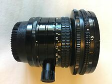 Nikon PC-E NIKKOR 28mm f/3.5 Lens in Mint Condition!