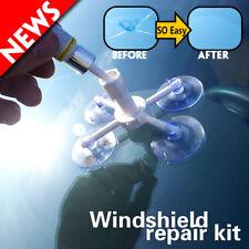Car Window Glass Crack Chip Resin Windscreen Windshield Repair DIY Tool Kit Set