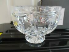 Signed Waterford Irish Crystal Gift ware Cut Glass Footed Variety Bowl w/Box