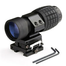 3X Magnifier Scope with FTS Flip to Side Mount Fits Holographic and Reflex Sight