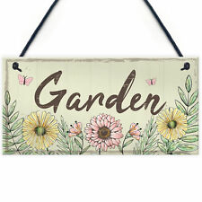 Garden Sign Door Shed Garden SummerHouse Plaque Home Decor Friendship Gift