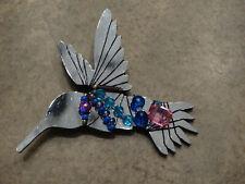 SANTA CLAUS BROOCH PIN Victorian Christmas Silver Pltd