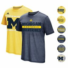 MICHIGAN WOLVERINES ADIDAS NCAA SIDELINE CLIMACOOL ENERGY AEROKNIT SHIRT MEN'S
