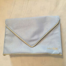 Decleor Light Blue & Gold Make-Up, Cosmetics, Toiletries Bag NEW