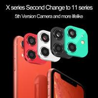a iPhone 11 Pro Max Finta copertura della fotocamera For iPhone XR X XS Max