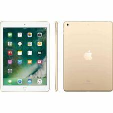 """New Apple iPad 6th Gen 128GB A10 WiFi 9.7"""" HD Retina Display Touch ID -Gold"""