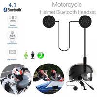 Bluetooth Motorcycle Helmet Headset Headphone 4.2 Handsfree Music Call Control