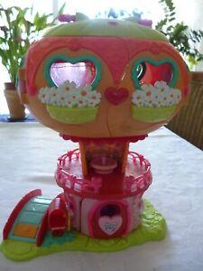 Hasbro My little Pony Spielhaus Wohnhaus Zubehör zwei kleine Pony´s