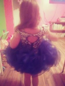 Blue toddler pageant dresses