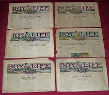 1922 Boy Life Newspaper Boy's Magazine Old Vintage Antique 1923 1924 1925 1926