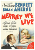 Merrily We Live (DVD) RESTORED & w/Constance Bennett, Brian Aherne, Billie Burke