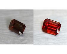 3.65cts Mind Blowing Natural 100% Color Change Garnet  Loose Gemstone