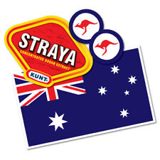 Australia Sticker Pack Aussie Kangaroo Funny Flag