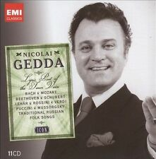 Nicolai Gedda~Icon~The Best Of~BRAND NEW 11 CD BOX SET~Fast Free Shipping