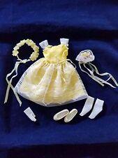 Skipper Flower Girl Outfit #1904 1964-65 Mattel Vintage Matches Barbie #987