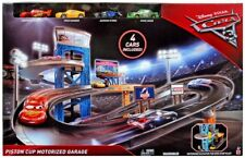 Disney Cars Cars 3 Piston Cup Motorized Garage Playset [Includes 4 Cars]