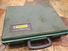 Caterpillar CAT 6V3060 Diesel EGR Low Emission Tester Tool