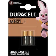 2x Batterie 12V 33mAh ø10,5x28,5mm A23 LR23A MN21 V23GA DURACELL Blister